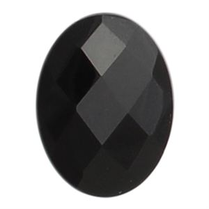Picture of Black Agate Oval Stone