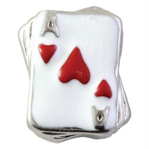 Picture of Red Ace of Hearts Charm