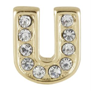 Picture of Gold 'U' Charm